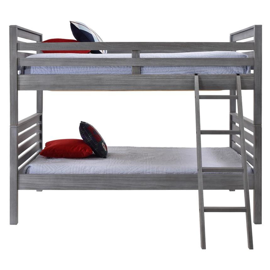 Montauk Gray Full Over Full Bunk Bed Made in Brazil  alternate image, 2 of 5 images.