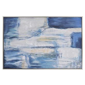 Cerulean Canvas Wall Art