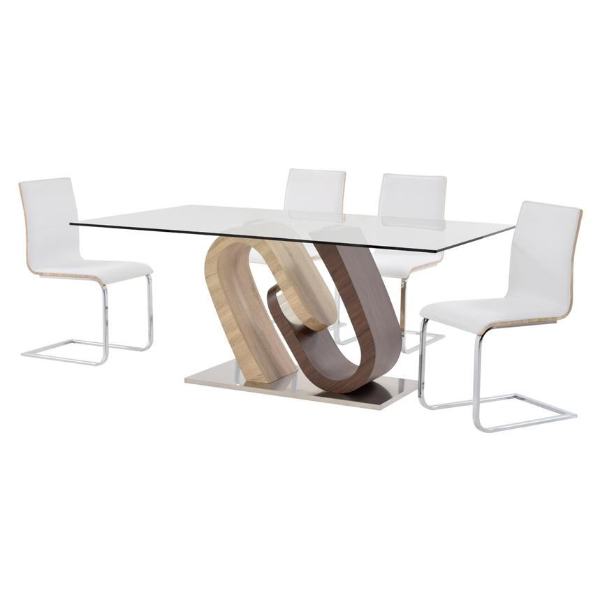 Serpentine/Solimar 5-Piece Casual Dining Set  alternate image, 2 of 12 images.