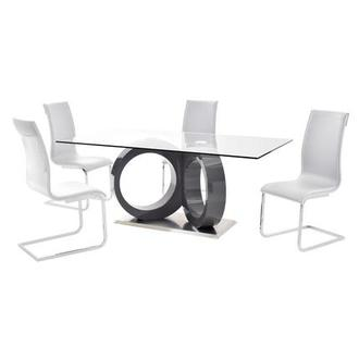 Stop 36 White 5-Piece Casual Dining Set