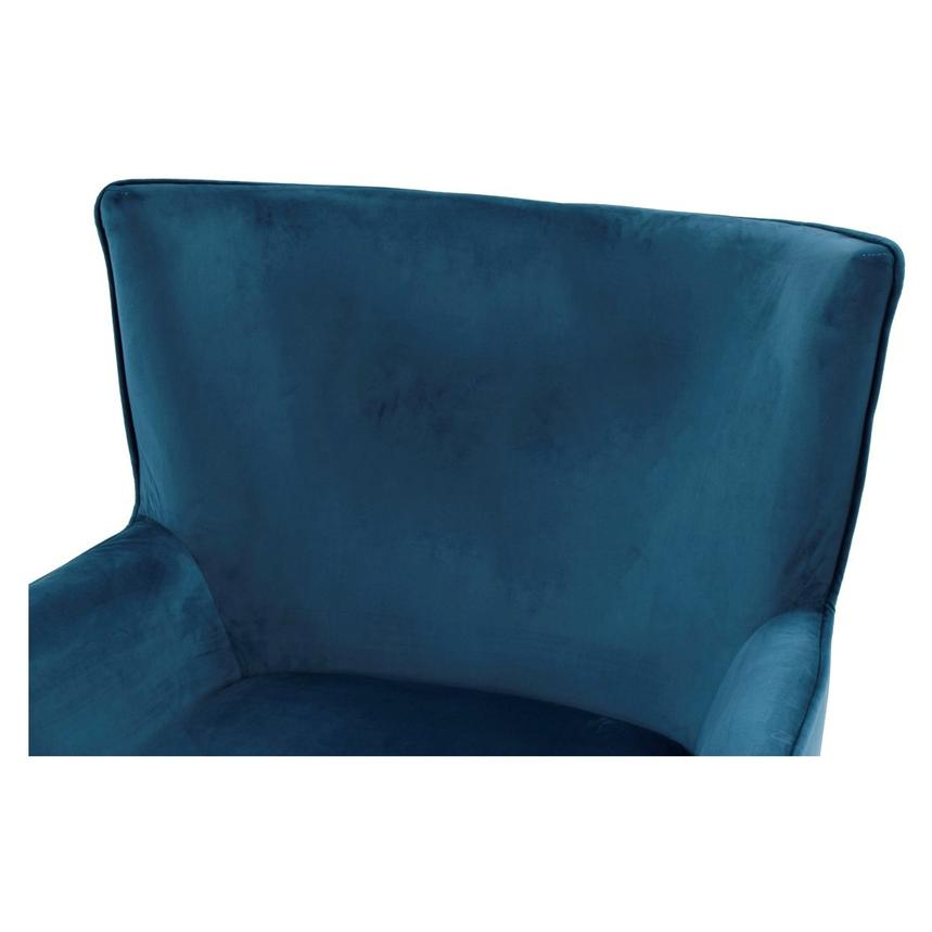 Zita Blue Accent Chair  alternate image, 3 of 7 images.