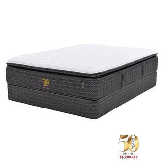 50th Anniversary Firm Full Mattress Set w/Regular Foundation by Carlo Perazzi