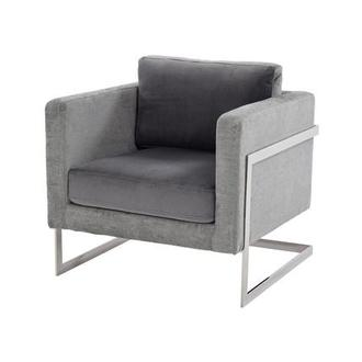 Popular Gray Accent Chair Interior