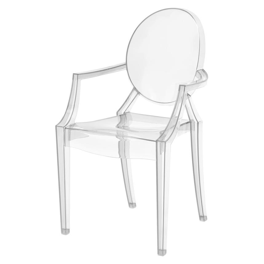 Isabella Clear Arm Chair  alternate image, 2 of 5 images.