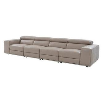 Melony Oversized Leather Sofa