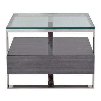 Calypso Gray Side Table