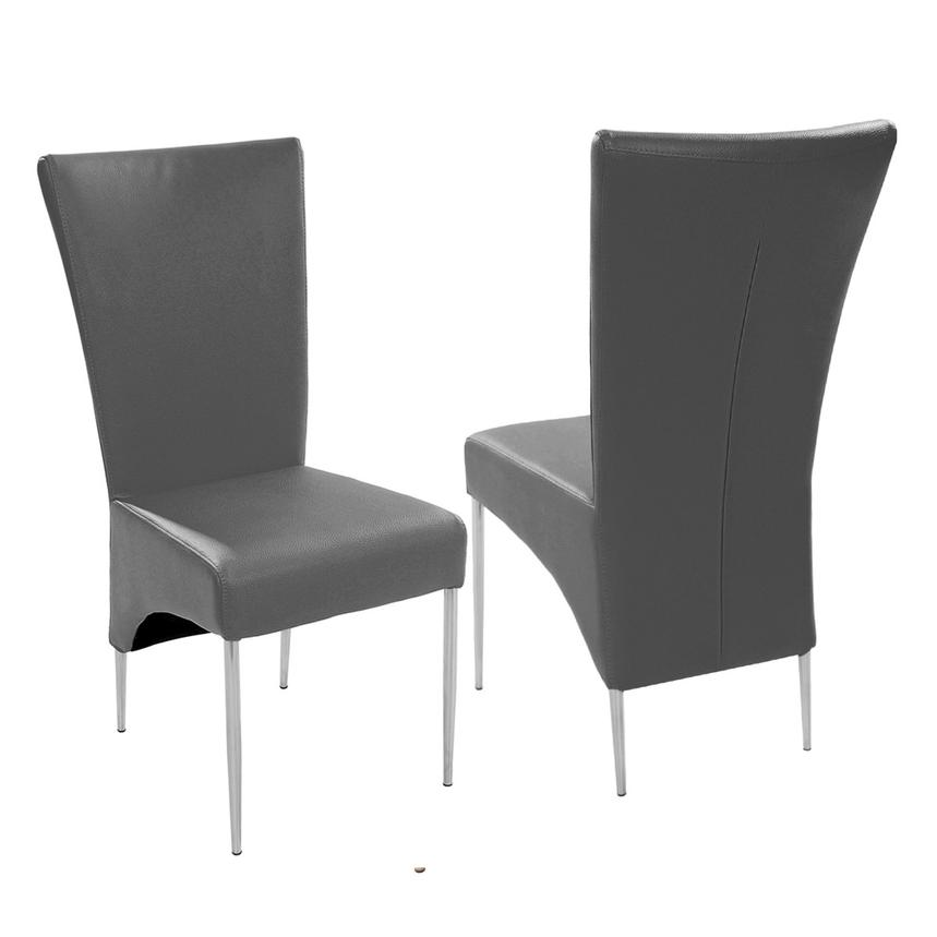 Vera/T-Gray 5-Piece Casual Dining Set  alternate image, 7 of 12 images.