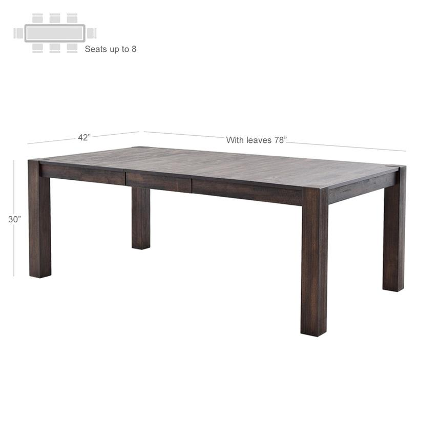 Chaney Extendable Dining Table Alternate Image 2 Of 6 Images
