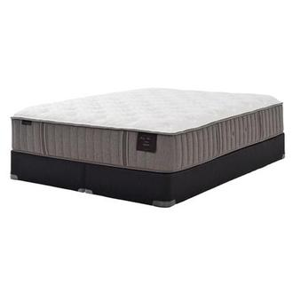Scarborough II King Mattress Set w/Regular Foundation by Stearns & Foster