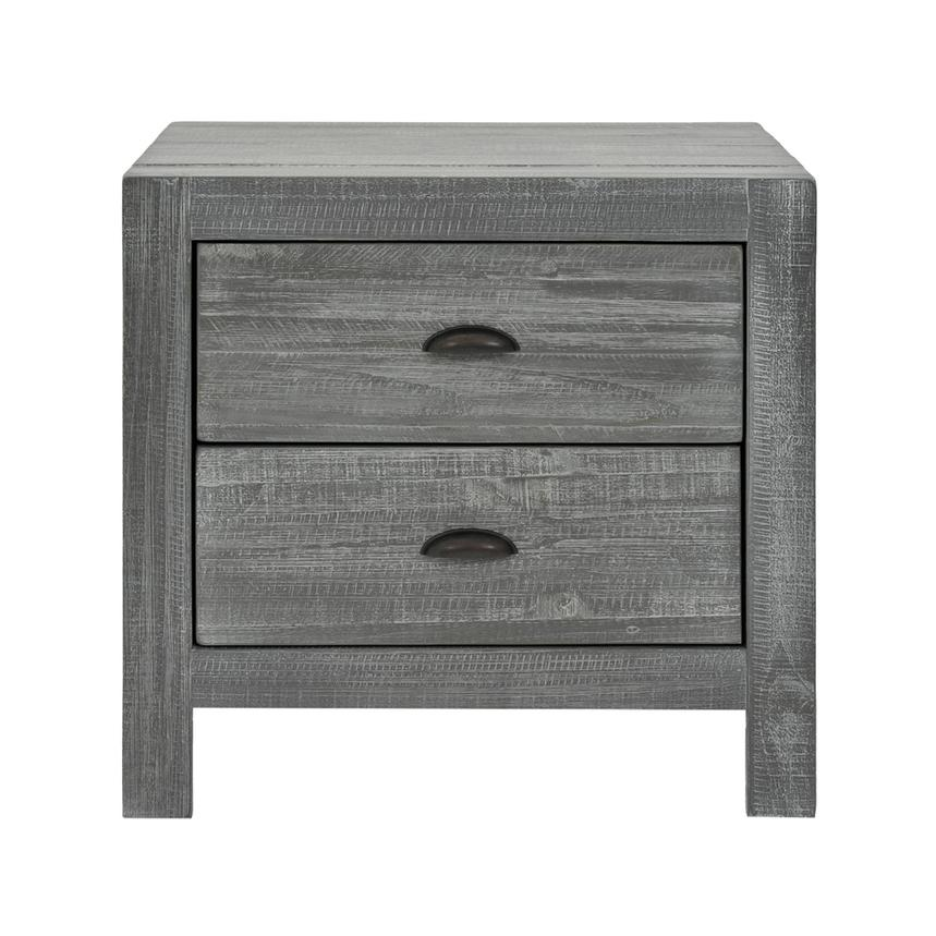Montauk Gray Nightstand Made in Brazil  alternate image, 3 of 8 images.