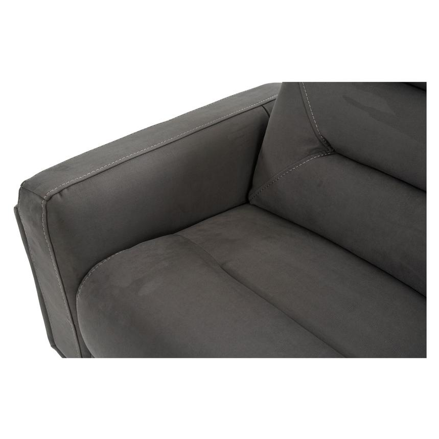 Kim Gray Power Motion Sofa w/Right & Left Recliners  alternate image, 7 of 12 images.