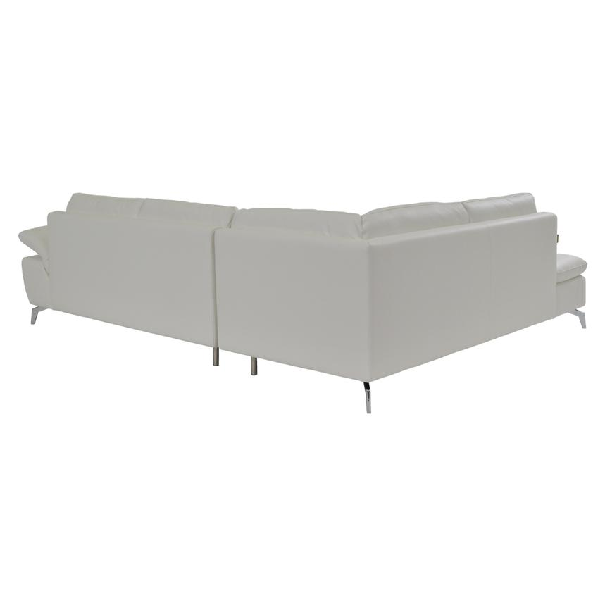 Fiji White Sofa W/Left Chaise Alternate Image, 2 Of 7 Images.