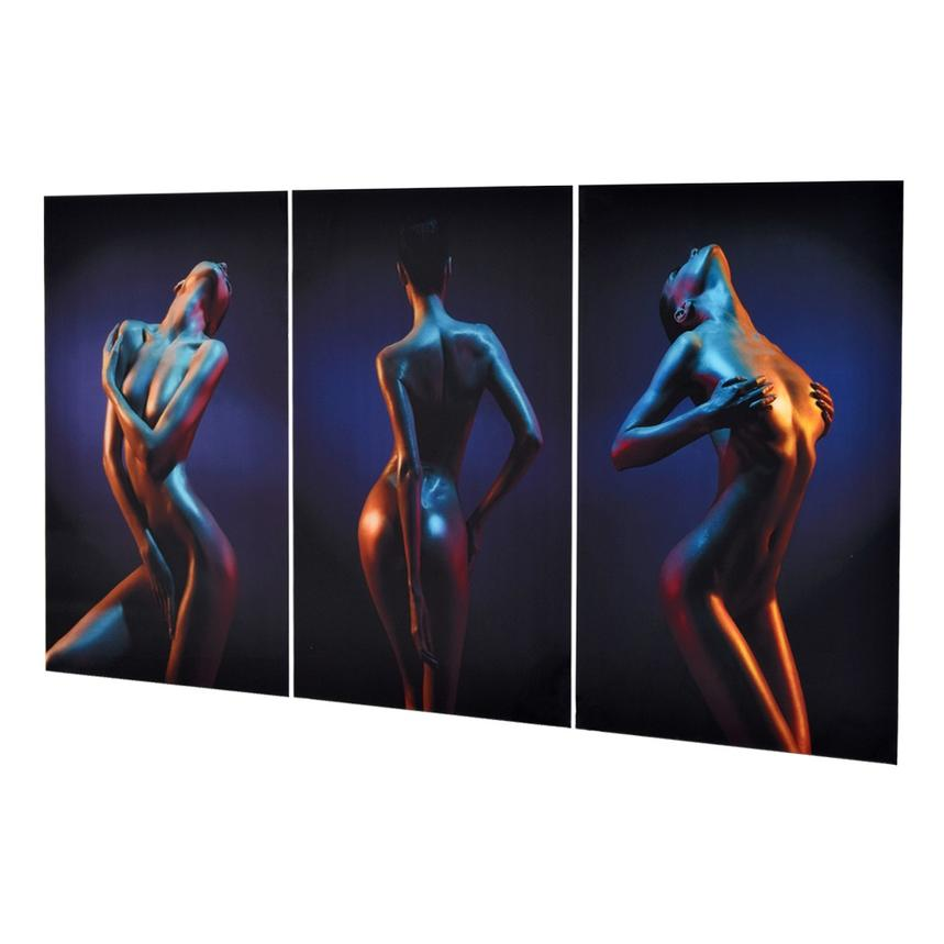 Trois Set of 3 Acrylic Wall Art  alternate image, 2 of 4 images.