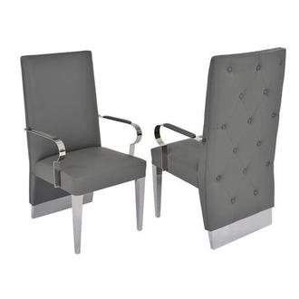 Ulysis Gray Arm Chair