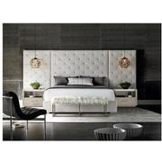Modern Universe King Platform Bed w/Side Panels  alternate image, 2 of 6 images.