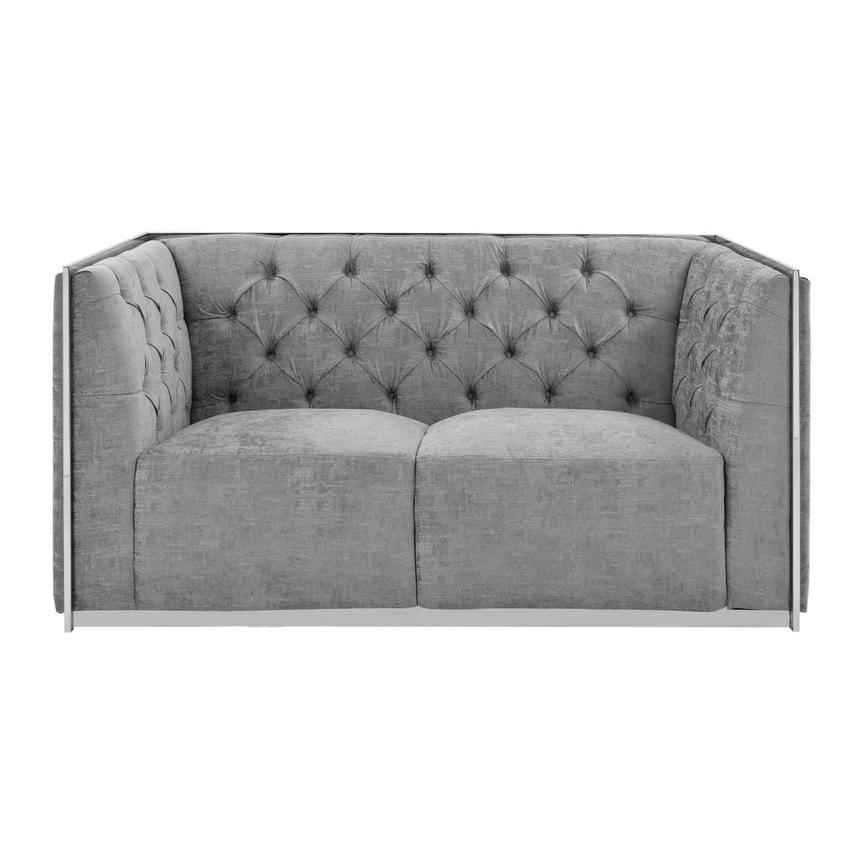 Emma Gray Loveseat  alternate image, 3 of 7 images.