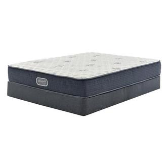 Pacific Heights Twin Mattress w/Low Foundation by Simmons Beautyrest Silver