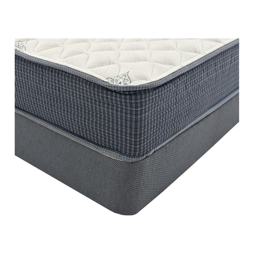 Pacific Heights Twin Mattress w/Regular Foundation by Simmons Beautyrest Silver  alternate image, 2 of 5 images.