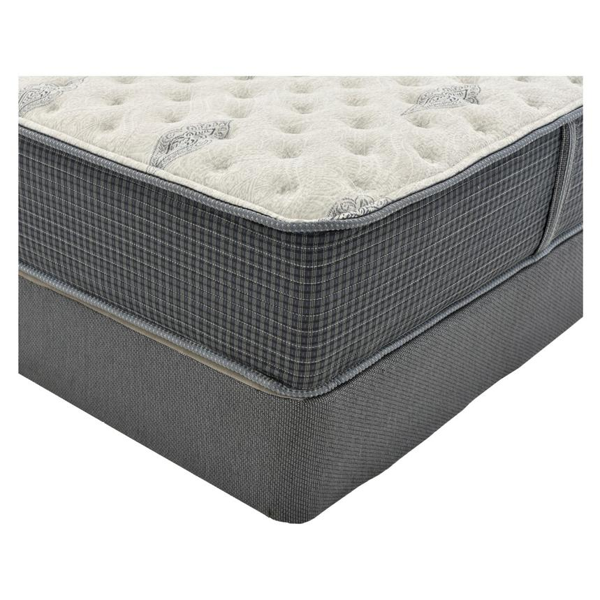 Bay Point Queen Mattress w/Regular Foundation by Simmons Beautyrest Silver  alternate image, 2 of 4 images.