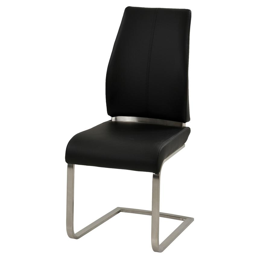 Maday Black Side Chair  alternate image, 2 of 4 images.