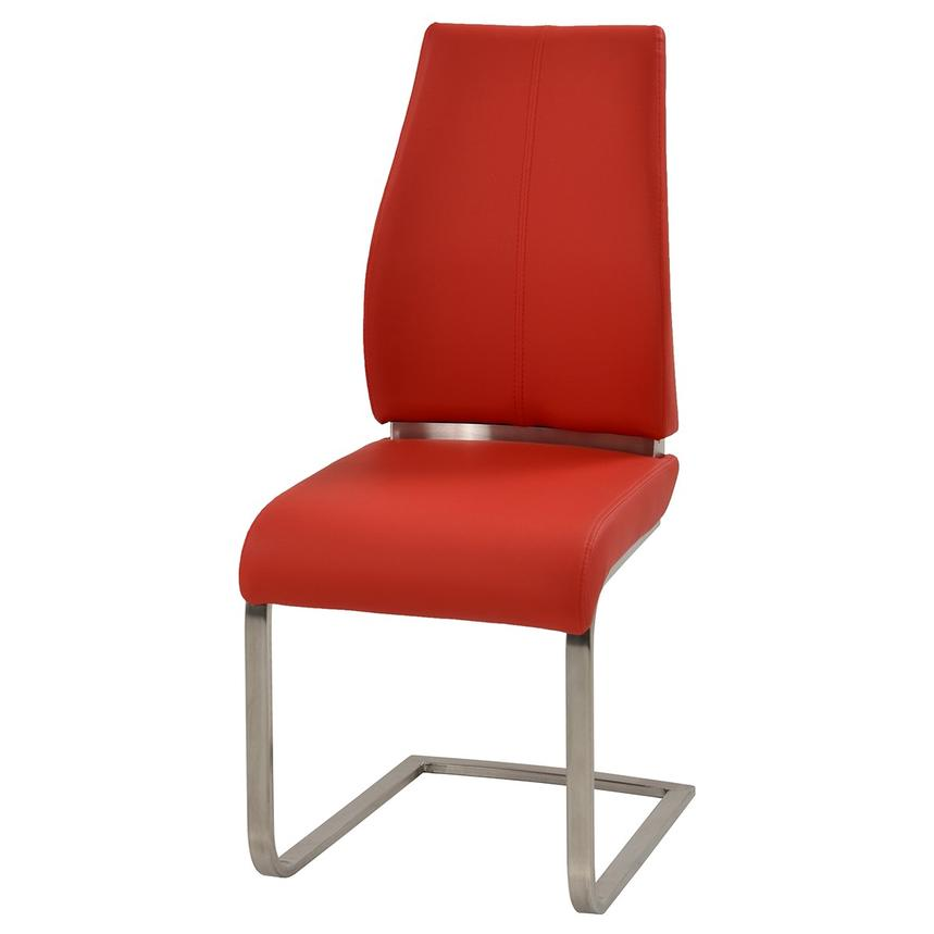 Maday Red Side Chair  alternate image, 2 of 4 images.