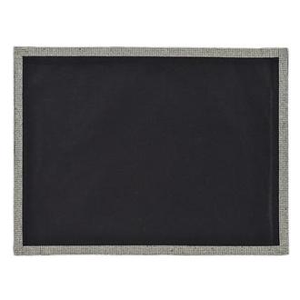 Glam Black Place Mat