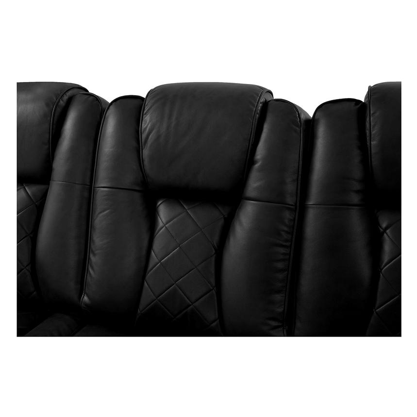 Chanel Black Power Motion Sofa  alternate image, 8 of 15 images.