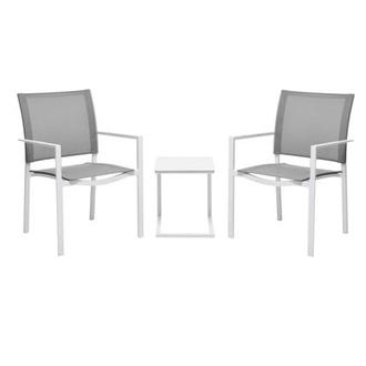 Mykonos Gray 3-Piece Patio Set