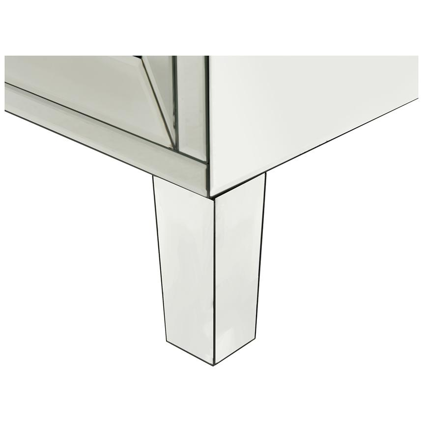 Amia White Mirrored Cabinet  alternate image, 7 of 7 images.