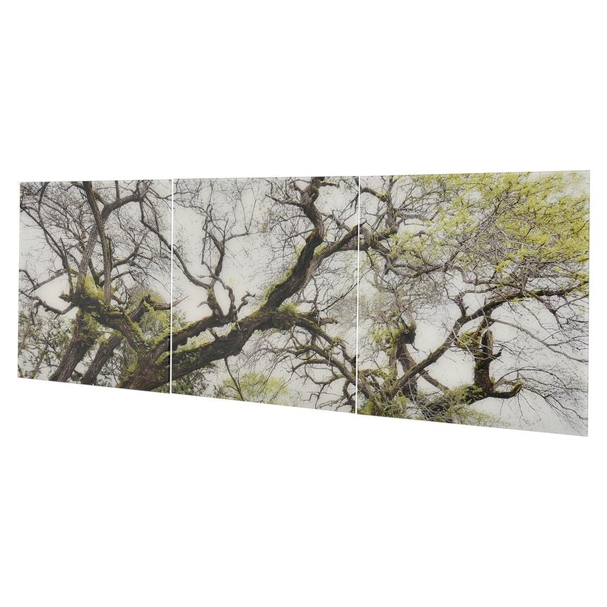 Arbre Set of 3 Acrylic Wall Art  alternate image, 2 of 4 images.