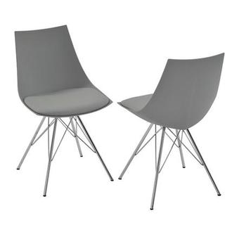 Annette II Gray Side Chair