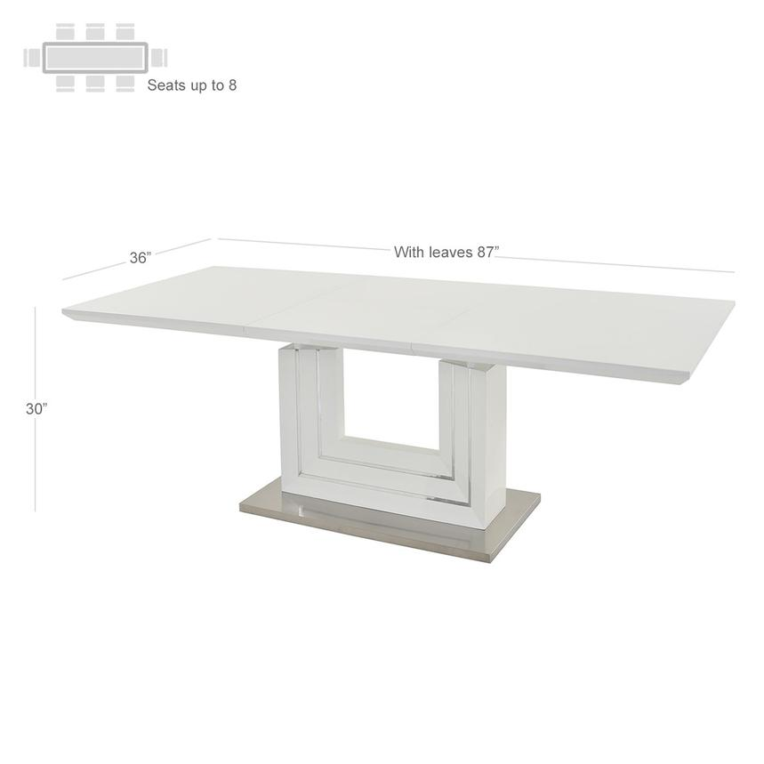 Lila Extendable Dining Table Alternate Image 2 Of 6 Images