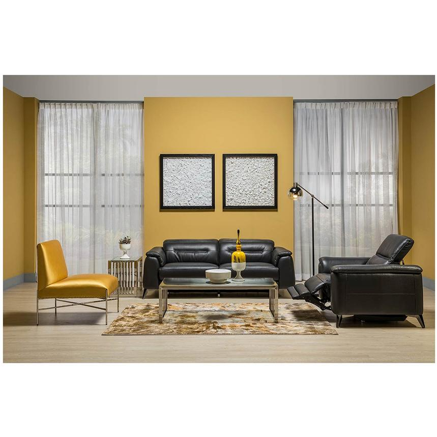 Anabel Gray Power Motion Leather Sofa  alternate image, 2 of 12 images.