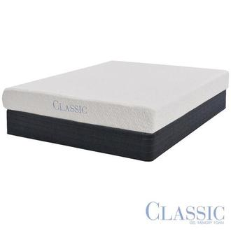 Ashbourne Memory Foam Full Mattress Set w/Regular Foundation by Classic Brands