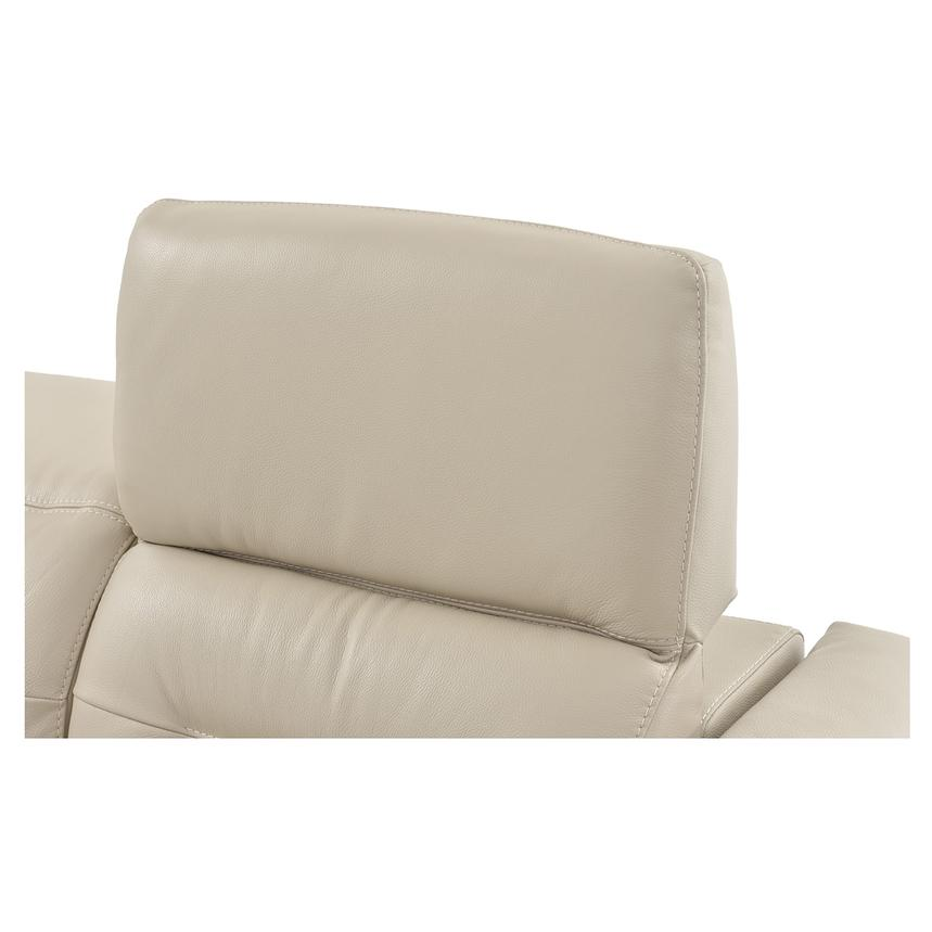 Anabel Cream Power Motion Leather Sofa  alternate image, 8 of 11 images.