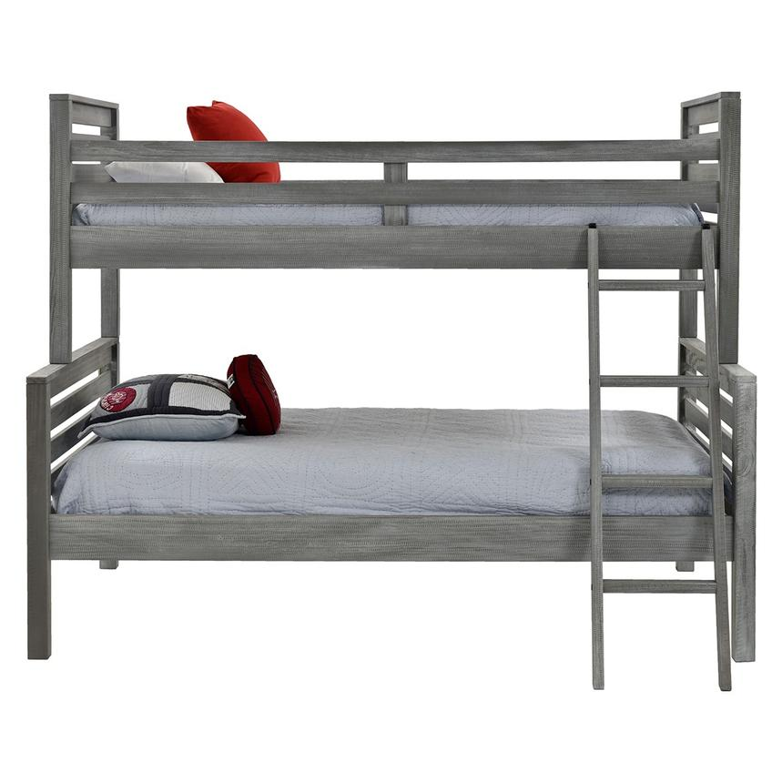 Montauk Gray Twin Over Full Bunk Bed Made in Brazil  alternate image, 2 of 5 images.