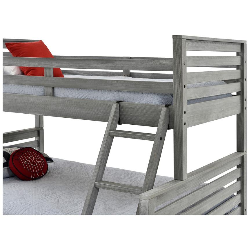 Montauk Gray Twin Over Full Bunk Bed Made In Brazil El