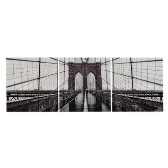 Brooklyn II Set of 3 Acrylic Wall Art