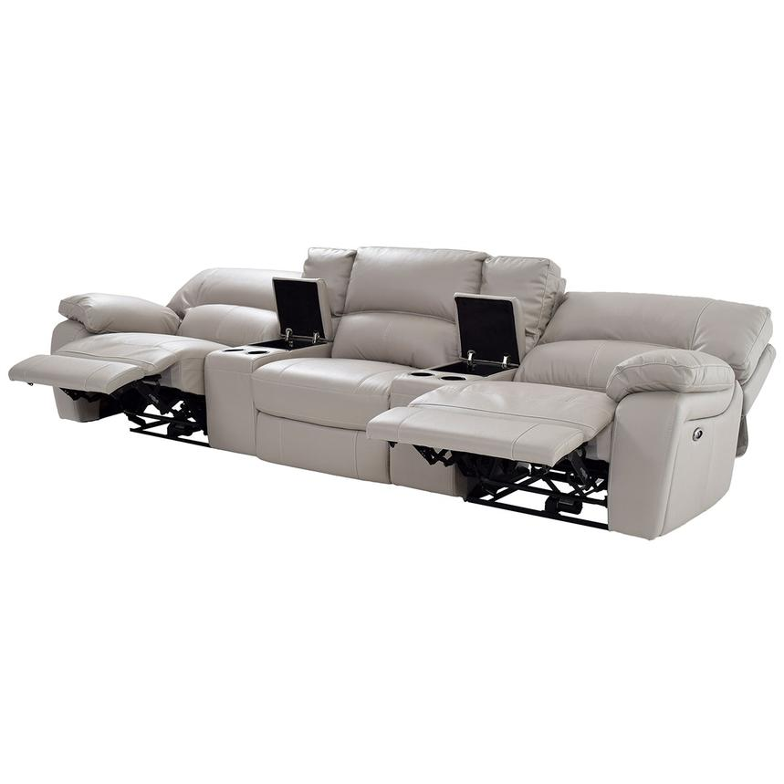 Camillo Gray Home Theater Seating El Dorado Furniture