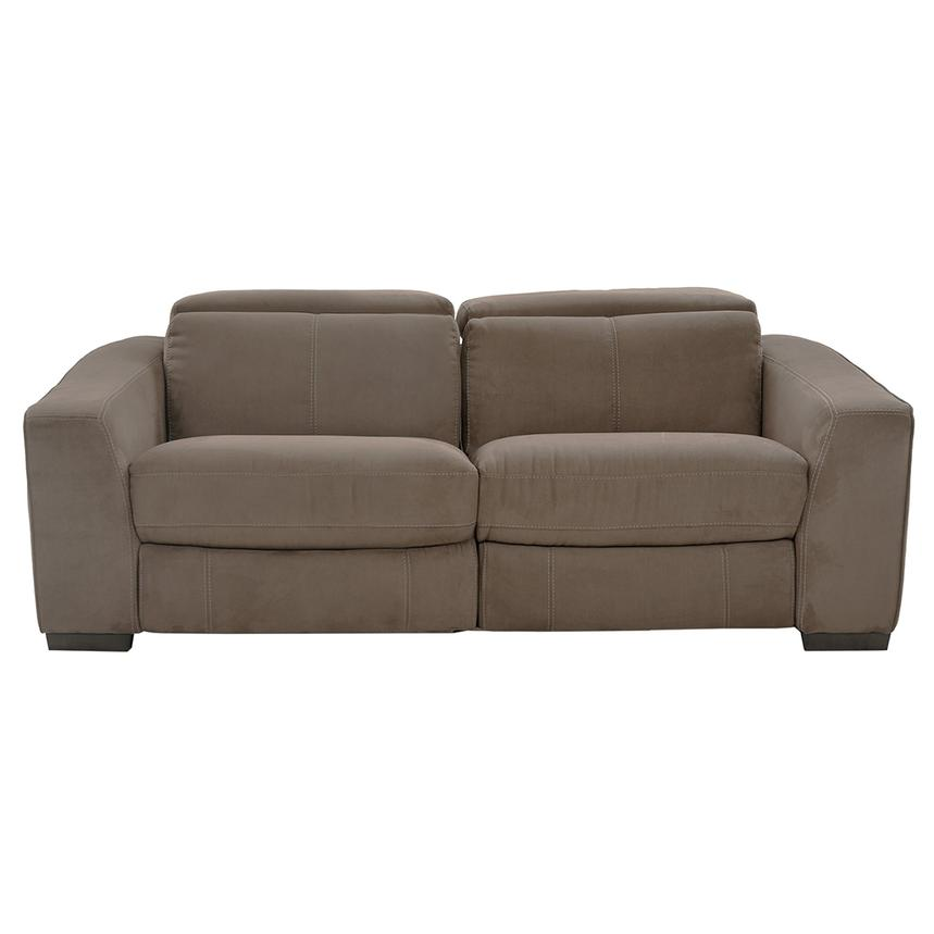 Jameson Brown Loveseat  alternate image, 3 of 8 images.