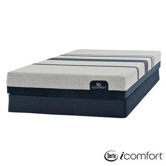 iComfort Blue 300 Twin XL Mattress w/Regular Foundation by Serta