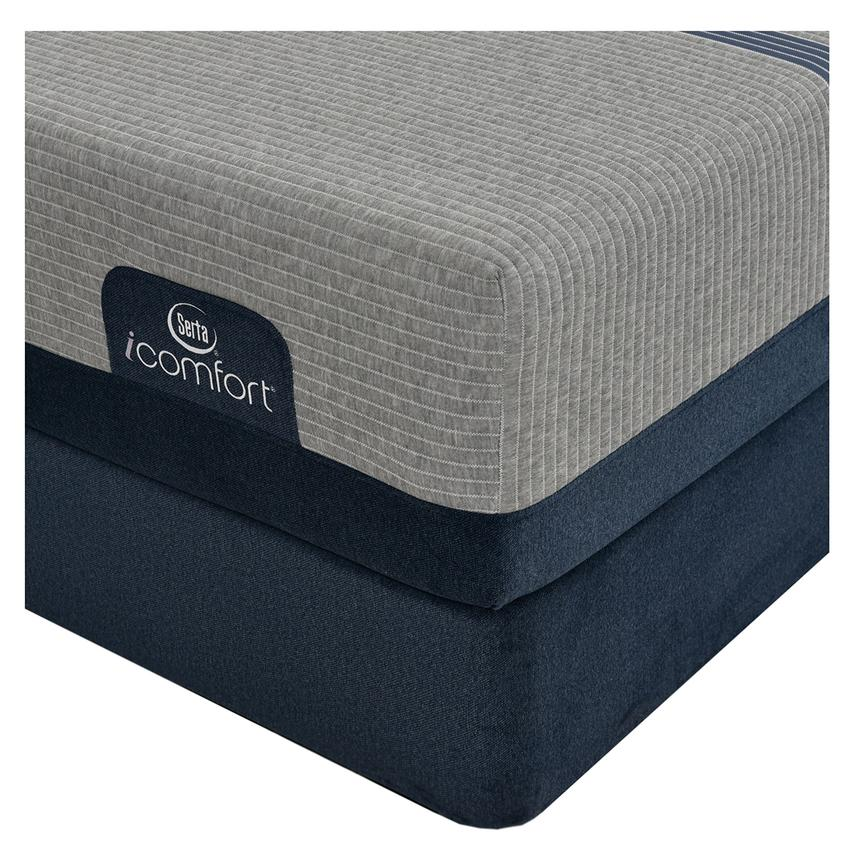 iComfort Blue Max 1000 Cushion Firm King Mattress w/Low Foundation by Serta  alternate image, 2 of 3 images.