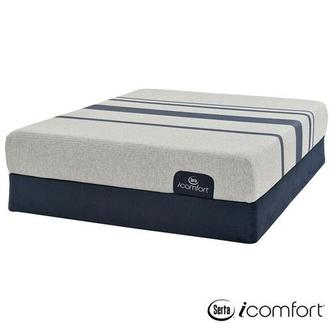 iComfort Blue 100 Queen Mattress w/Regular Foundation by Serta