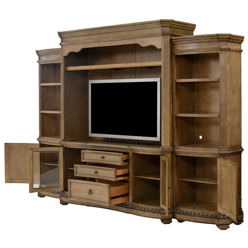 Touraine Wall Unit w/Pier Units   El Dorado Furniture