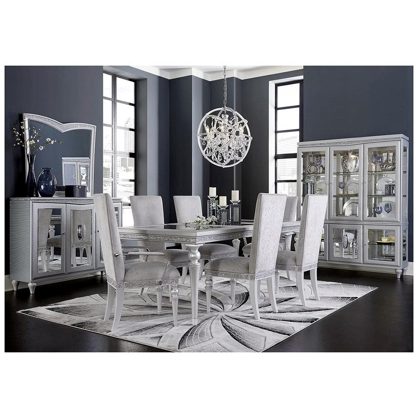 melrose extendable dining table | el dorado furniture