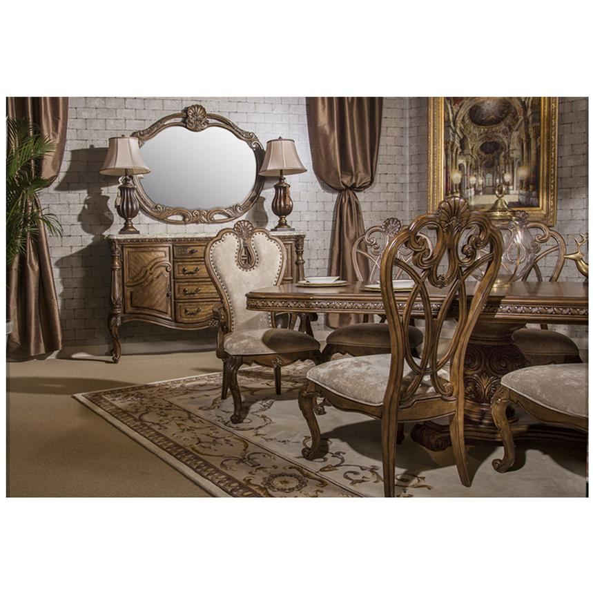 Eden's Paradise 5-Piece Formal Dining Set  alternate image, 2 of 14 images.