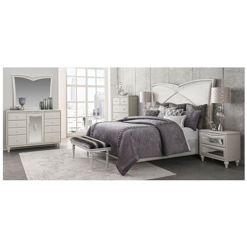 Melrose Queen Platform Bed El Dorado Furniture