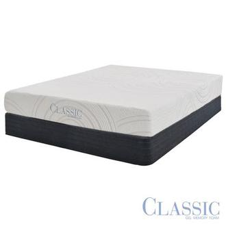 Darlington Memory Foam Queen Mattress Set w/Regular Foundation by Classic Brands