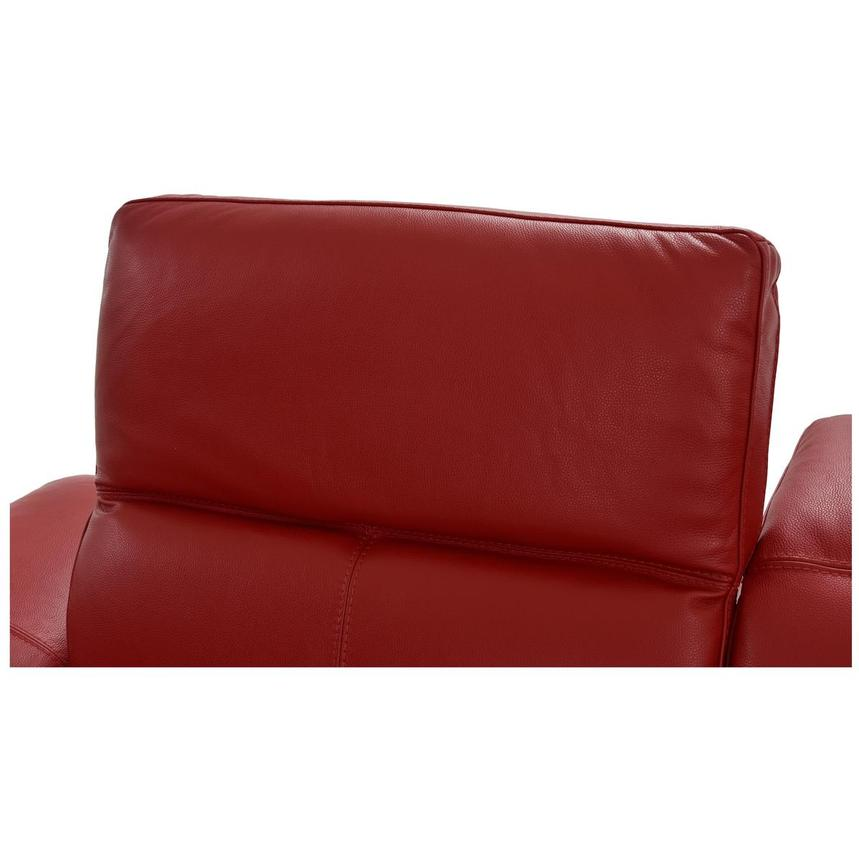 Toronto Red Power Motion Leather Sofa w/Right Chaise  alternate image, 7 of 12 images.