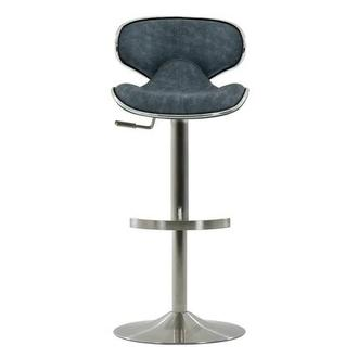 Ecco Blue Adjustable Stool